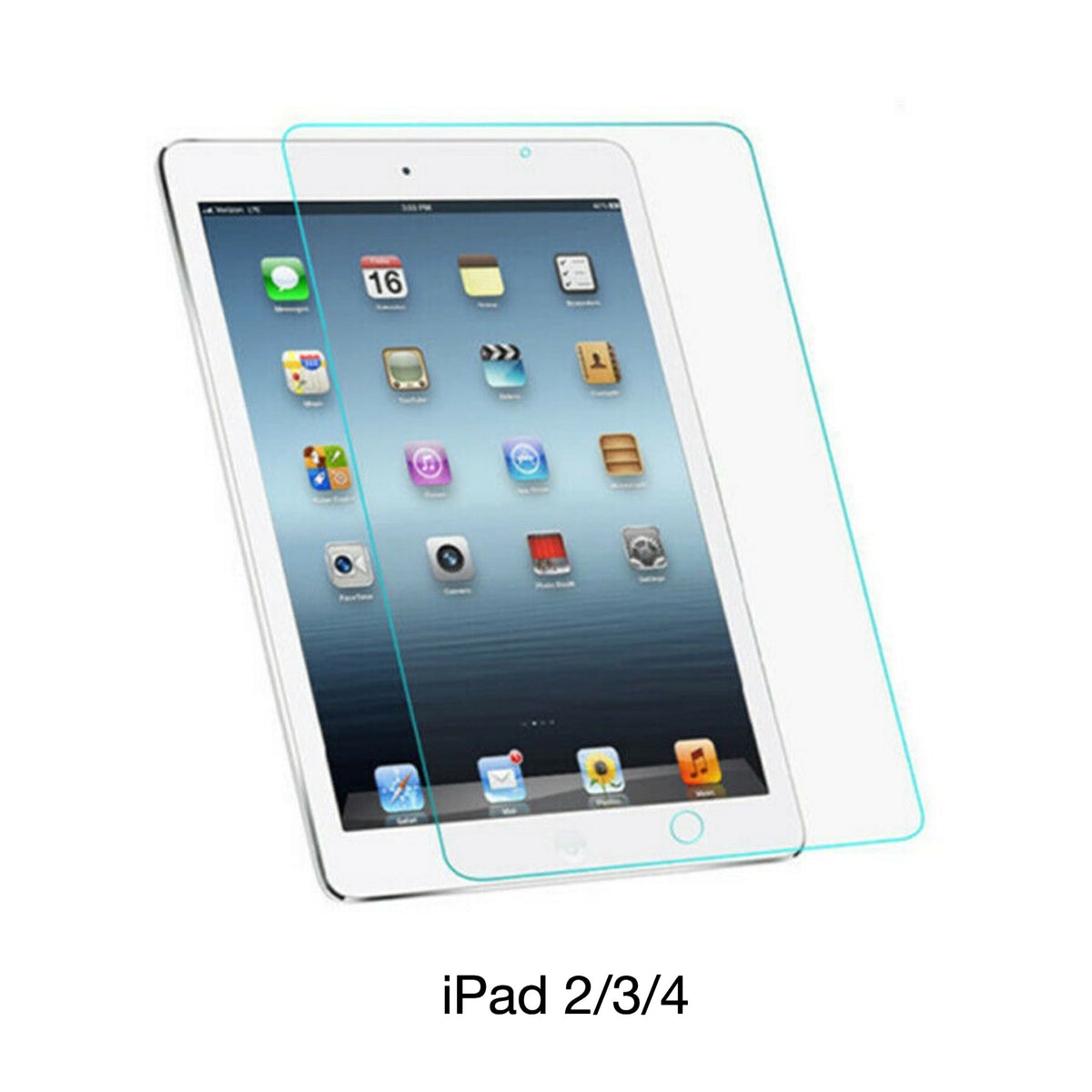 Defend My iPad Tempered Glass Screen Protector