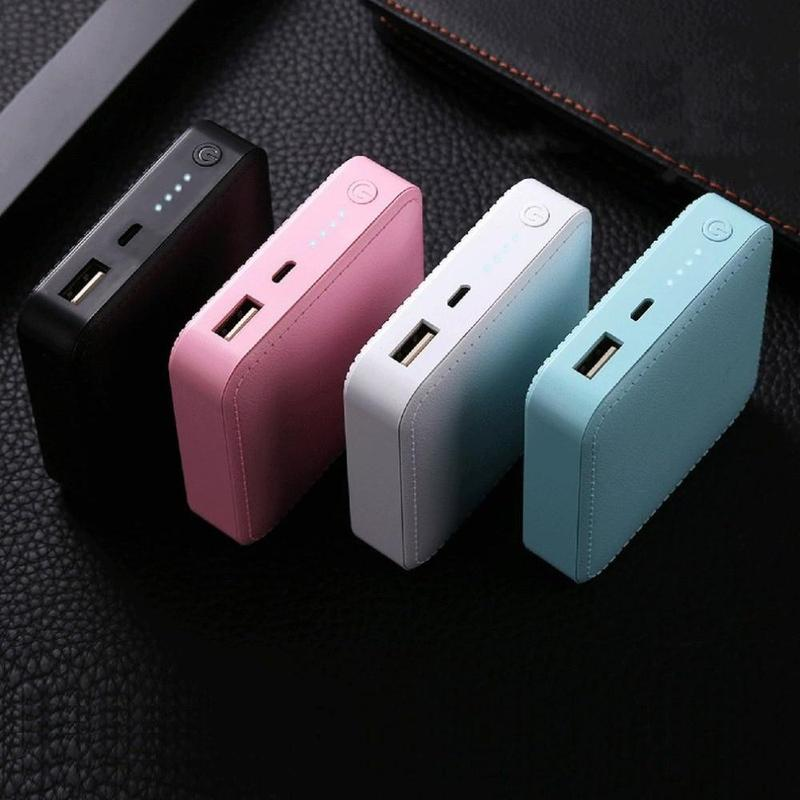 Soft Touch 6000 mAh Lithium-Polymer Battery Power Bank