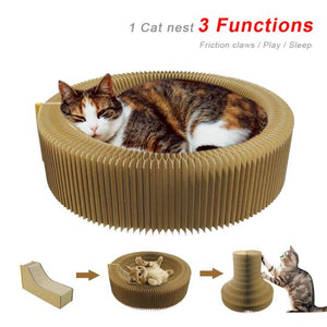 Cat Scratcher Lounge Bed