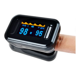 Finger Pulse Oximeter Digital Led Instant Reader