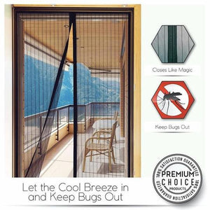 Magnetic Screen Door ( Black )
