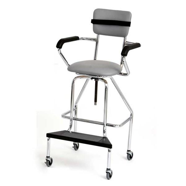 Adjustable High Chair with Caster - US MED REHAB