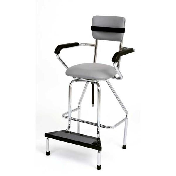 Adjustable High Chair with Rubber Tips for Hi-Boy Whirlpools - US MED REHAB