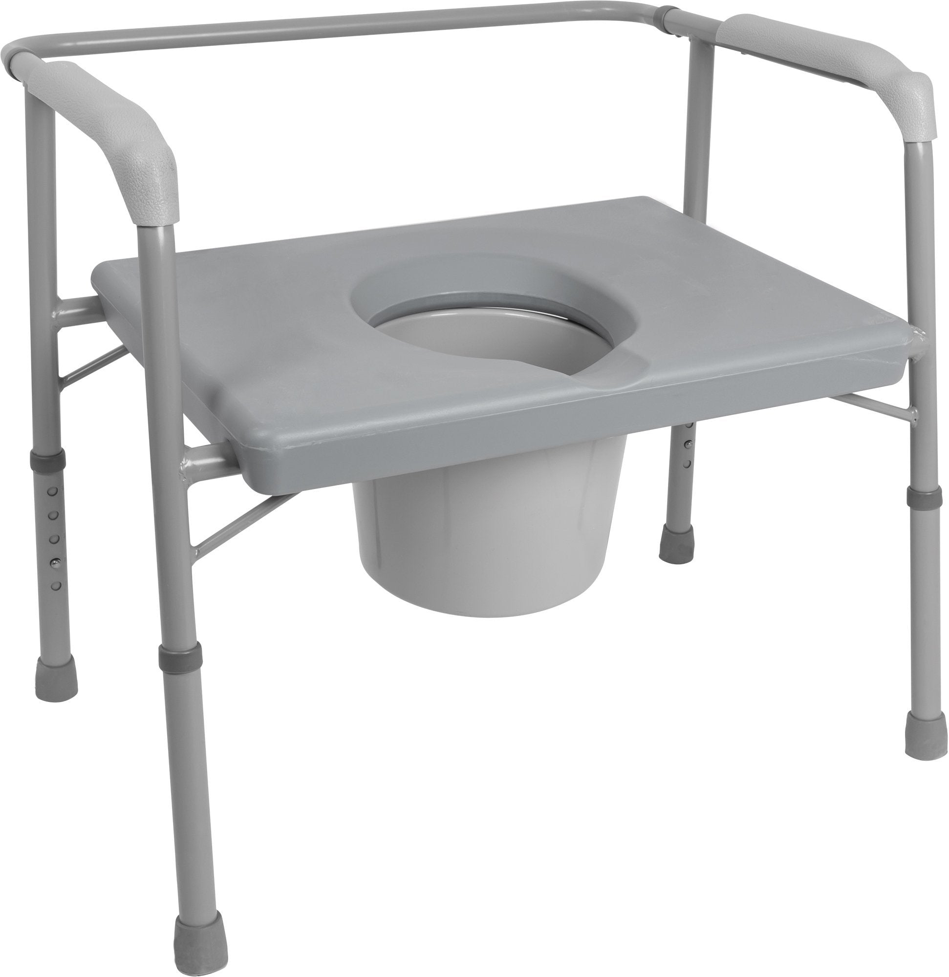 "Bariatric 24"" Commode, 650lb Weight Capacity - US MED REHAB"