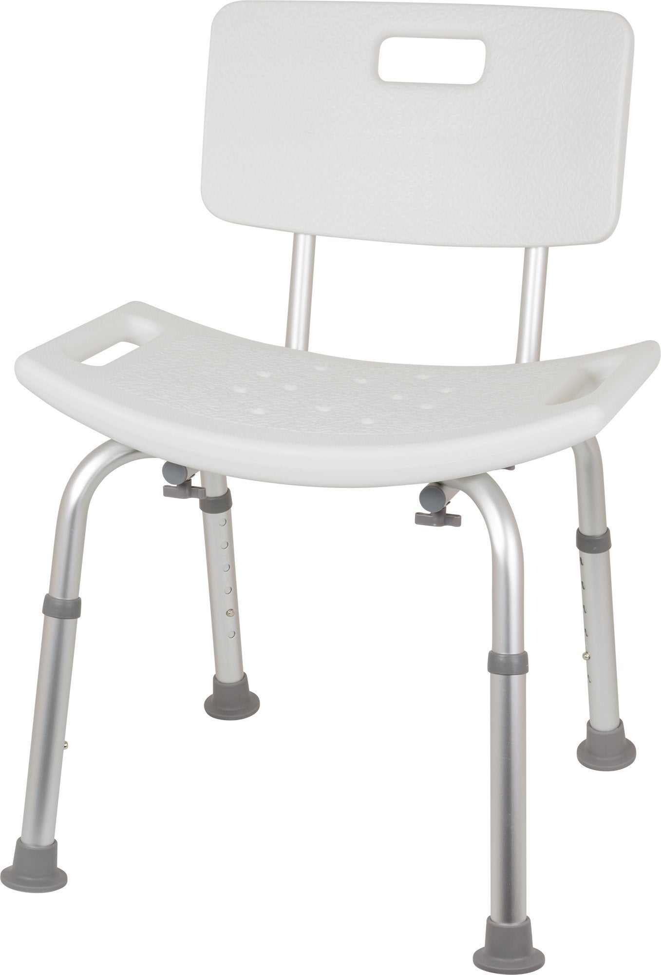 Bariatric Shower Chair with Back, 550lb Weight Capacity - US MED REHAB