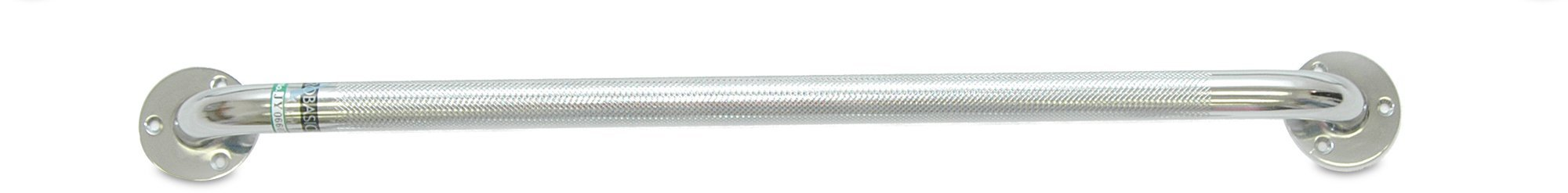 "Chrome Knurled Grab Bar, 18"", 250lb Weight Capacity - US MED REHAB"