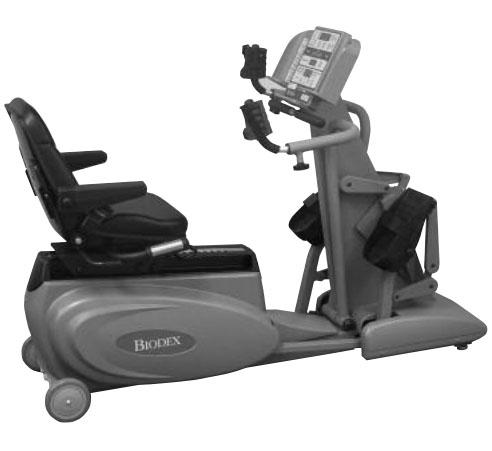 (CPO) Biodex BioStep Semi-Recumbent Elliptical - US MED REHAB