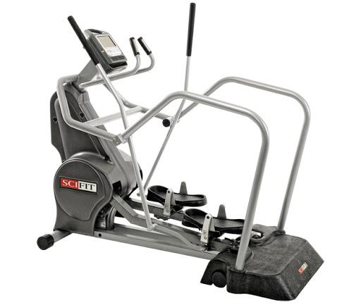 (CPO) SciFit SXT 7000e2 Total Body Elliptical with Easy Entry (Older Screen) - US MED REHAB