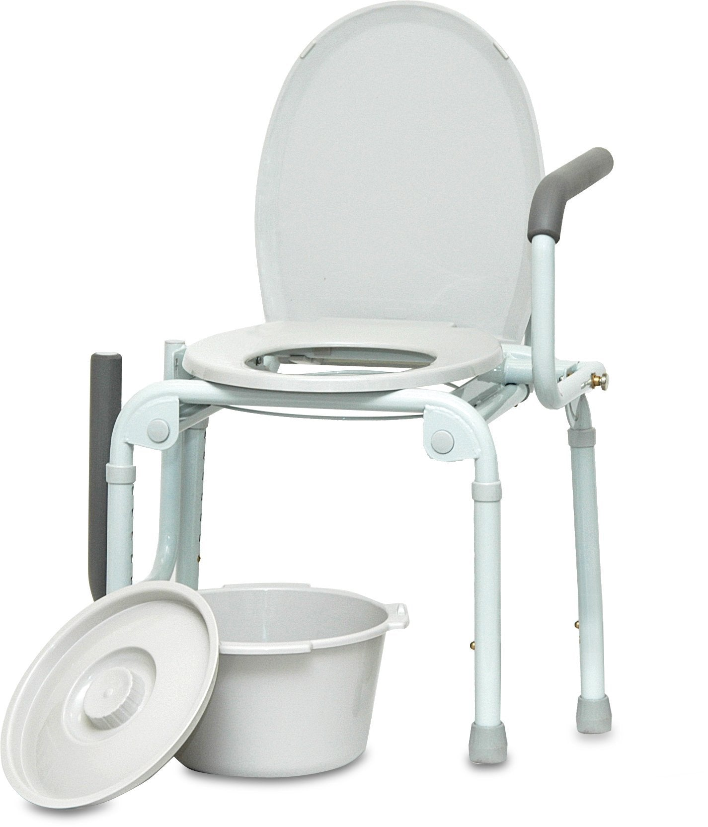 Drop Arm Commode, 300lb Weight Capacity - US MED REHAB