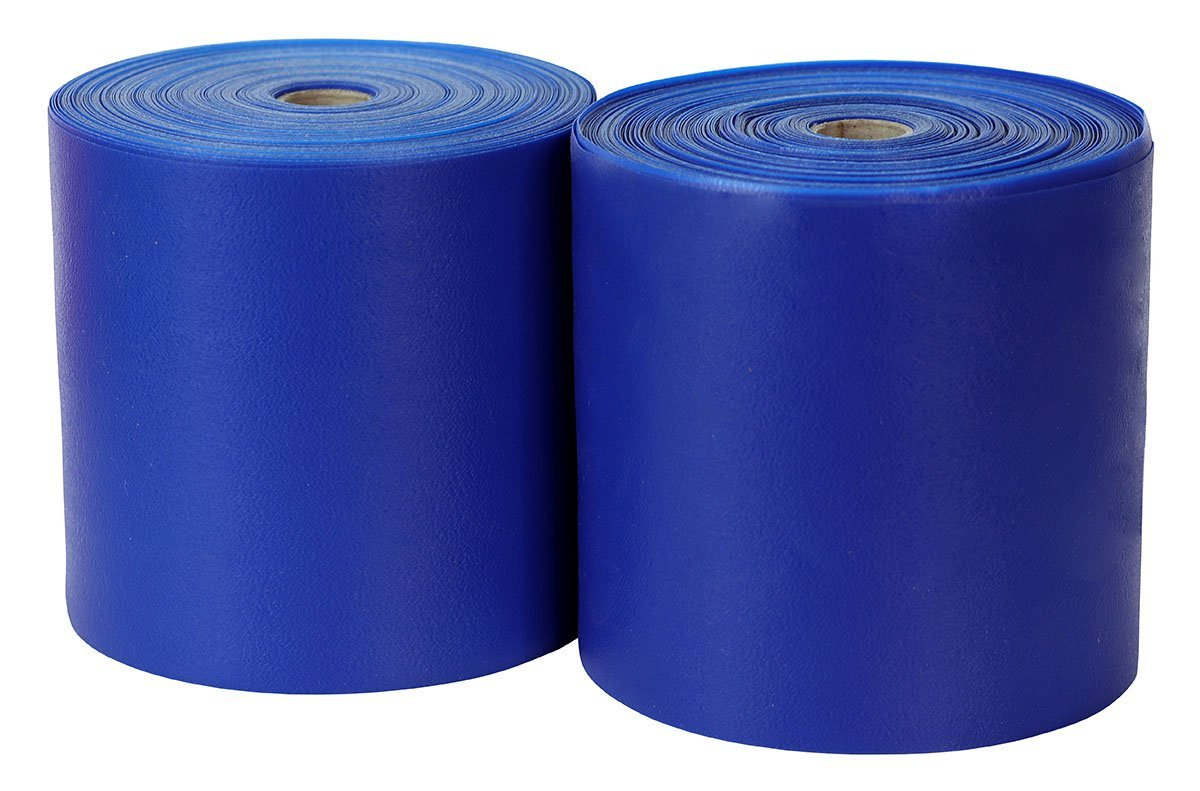 Sup-R Band® Latex-Free Exercise Band - Twin-Pak® - 100 yard - (2 - 50 yard boxes) - Blue - US MED REHAB
