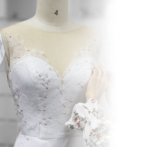 Lace Placing Handwork| Lilac | LilacBridal