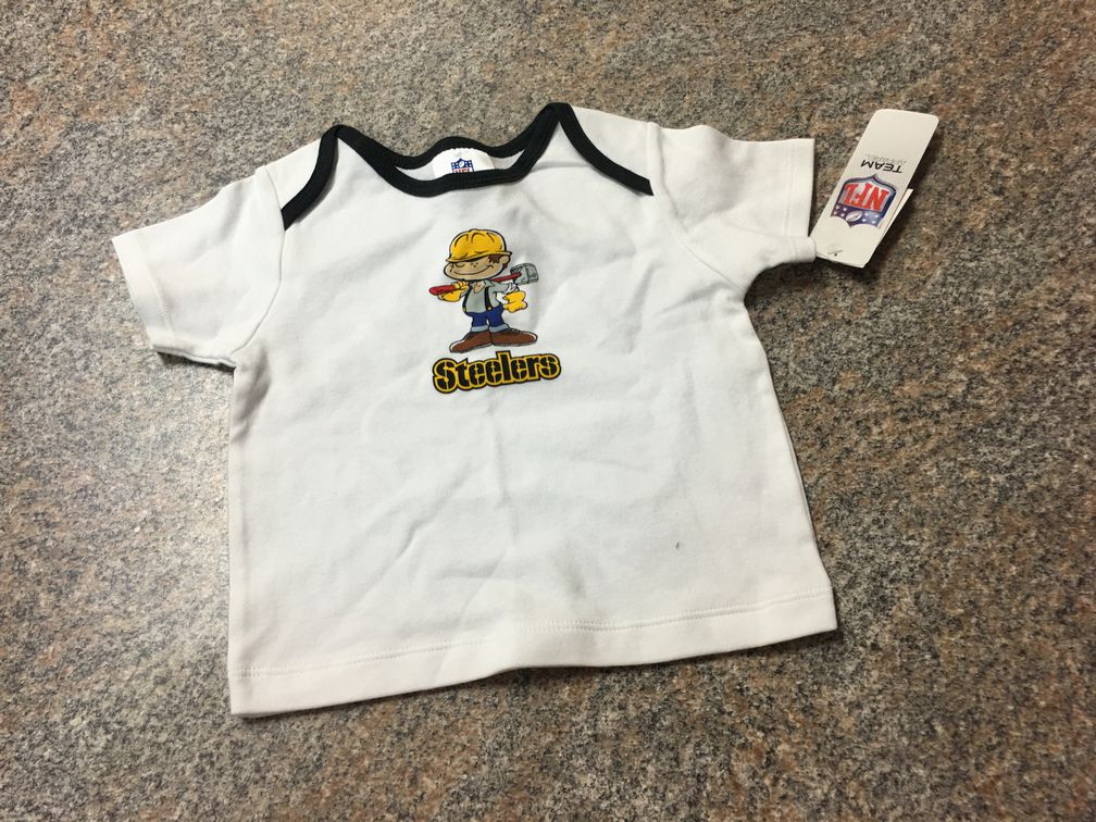 NFL Steelers T sz 24 months NWT