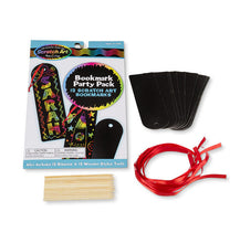 Load image into Gallery viewer, Melissa & Doug Scratch Art® Party Pack - Bookmarks New