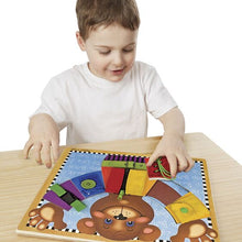 Load image into Gallery viewer, Melissa & Doug Basic Skills Puzzle Board New