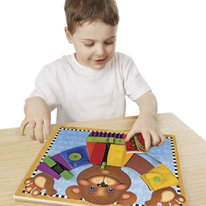 Melissa & Doug Basic Skills Puzzle Board New