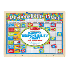 Load image into Gallery viewer, Melissa & Doug Magnetic Responsibility Chart New