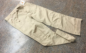 Gymboree khaki roll up cuffed pants sz 10 NWT