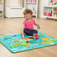 Load image into Gallery viewer, Melissa & Doug Around the World Travel Rug NEW