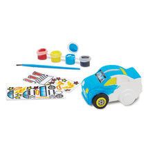 Load image into Gallery viewer, Melissa & Doug Created by Me! Race Car Bank Craft Kit NEW