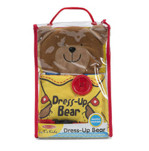 Load image into Gallery viewer, Melissa & Doug New ~ Dress Up Bear Soft Book