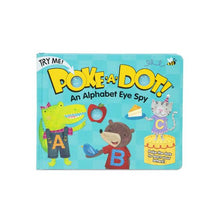Load image into Gallery viewer, Melissa & Doug Poke a Dot An Alphabet Eye Spy Book NEW