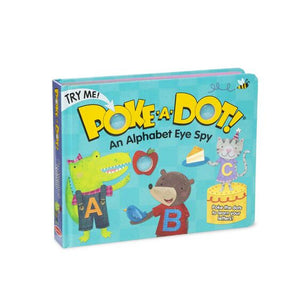 Melissa & Doug Poke a Dot An Alphabet Eye Spy Book NEW