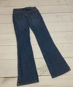 Old Navy boot-cut jeans sz 14 slim EUC