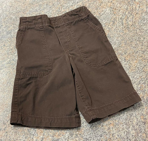 Carter's brown shorts sz 5 EUC