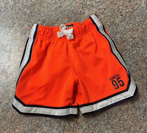 Oshkosh orange active shorts sz 2t EUC