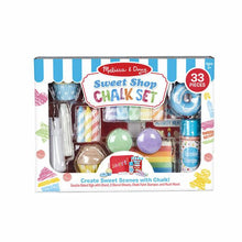 Load image into Gallery viewer, Melissa & Doug Sweet Shop Chalk Play Set NEW