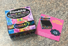 Load image into Gallery viewer, Melissa & Doug Scratch Art® Box of Friendship Mini Notes New