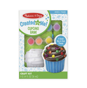 Melissa & Doug Created By Me! Cupcake Bank NEW
