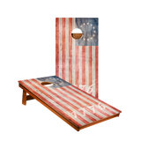 MP2 1776 American Flag Professional Cornhole Boards