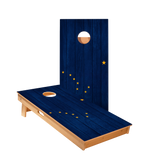 Alaska Flag Regulation Cornhole Boards Bag Toss Game Set
