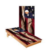 Star American Flag Cloth Design Professional Cornhole Boards