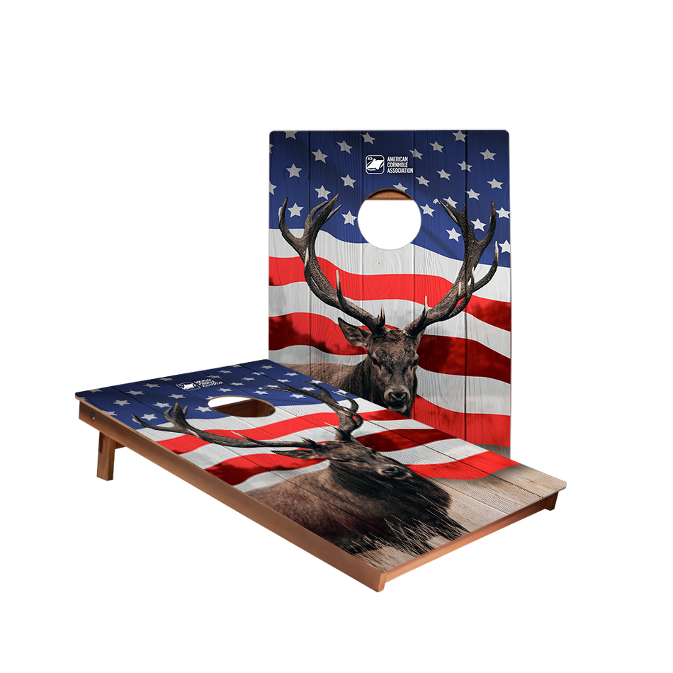 Dale American Stag Recreation Cornhole Boards