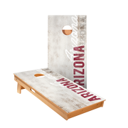 Arizona Vintage Gameday Regulation Cornhole Boards Bag Toss Game Set