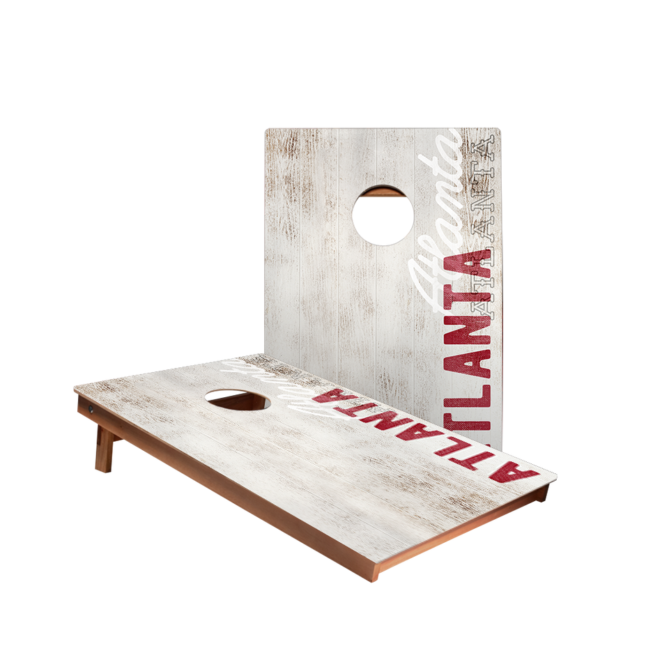 Dale Atlanta Vintage Gameday Recreation Cornhole Boards