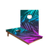 Dale Beach Gradient Blue Recreation Cornhole Boards