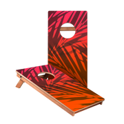 KG Beach Gradient Orange Recreation Cornhole Boards