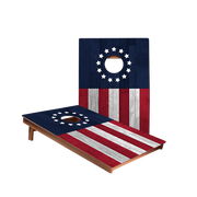 Dale Betsy Ross Flag Recreation Cornhole Boards