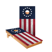 Star Betsy Ross Flag Professional Cornhole Boards