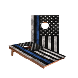 Dale Blue Lives Matter Recreation Cornhole Boards
