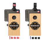 Brewfontaine Double Chuck Mini Cornhole Game