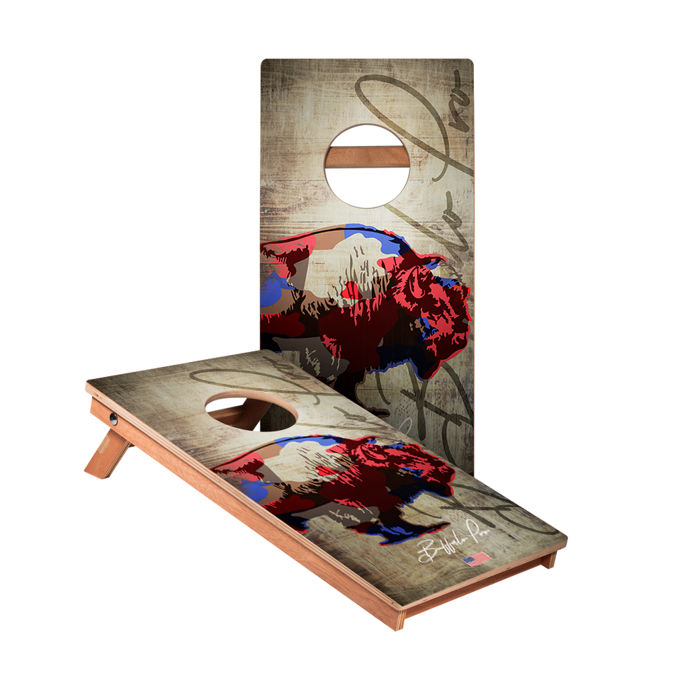 KG Buffalo Pro Recreation Cornhole Boards