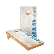 Carolina Vintage Gameday Regulation Cornhole Boards Bag Toss Game Set