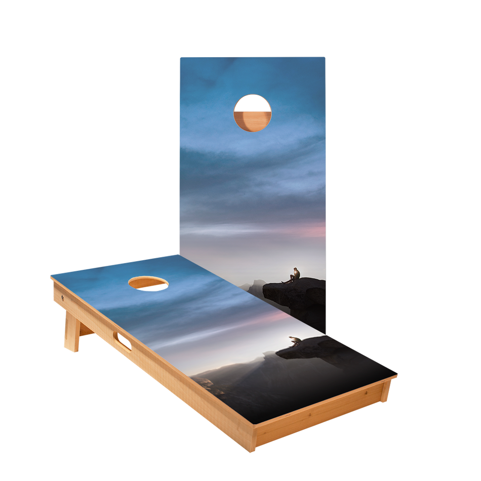 Star Cliff Sunset Professional Cornhole Boards