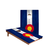 Dale Colorado Flag Recreation Cornhole Boards