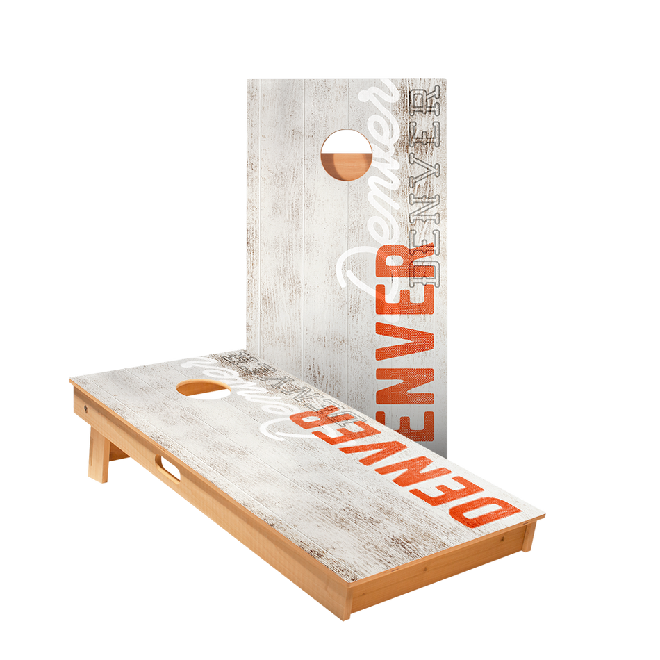 Star Denver Vintage Gameday Professional Cornhole Boards