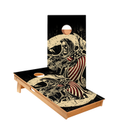 USA Grim Reaper Regulation Cornhole Boards Bag Toss Game Set